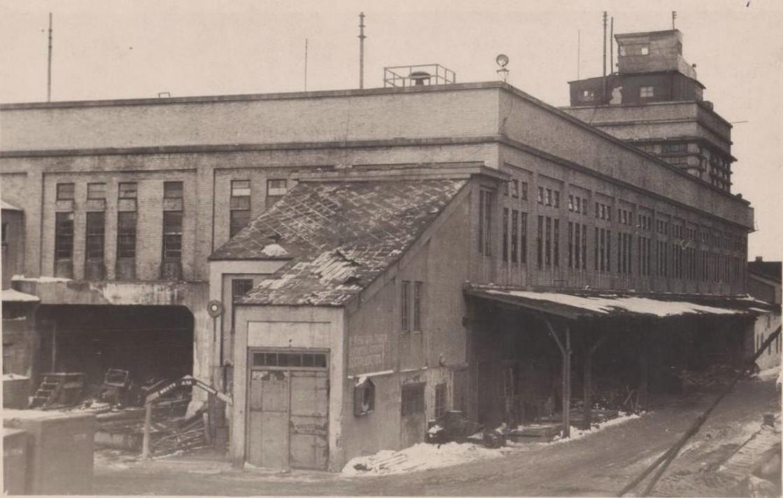 Административное здание Южного порта в г. Корсаков