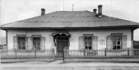Дом ссыльнопоселенца Карла Ландсберга, в котором бывал А.П. Чехов во время пребывания на Сахалине. Пост Александровский.