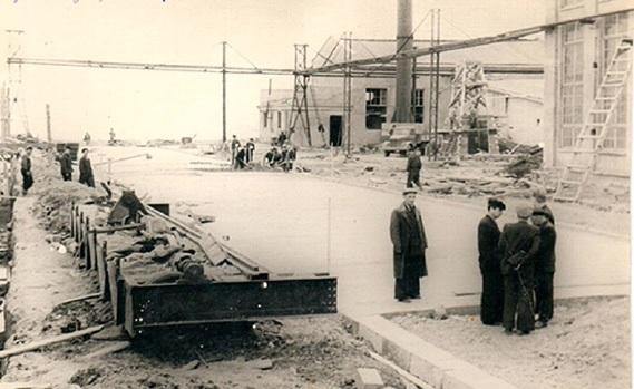 Строительство Холмского судоремонтного завода