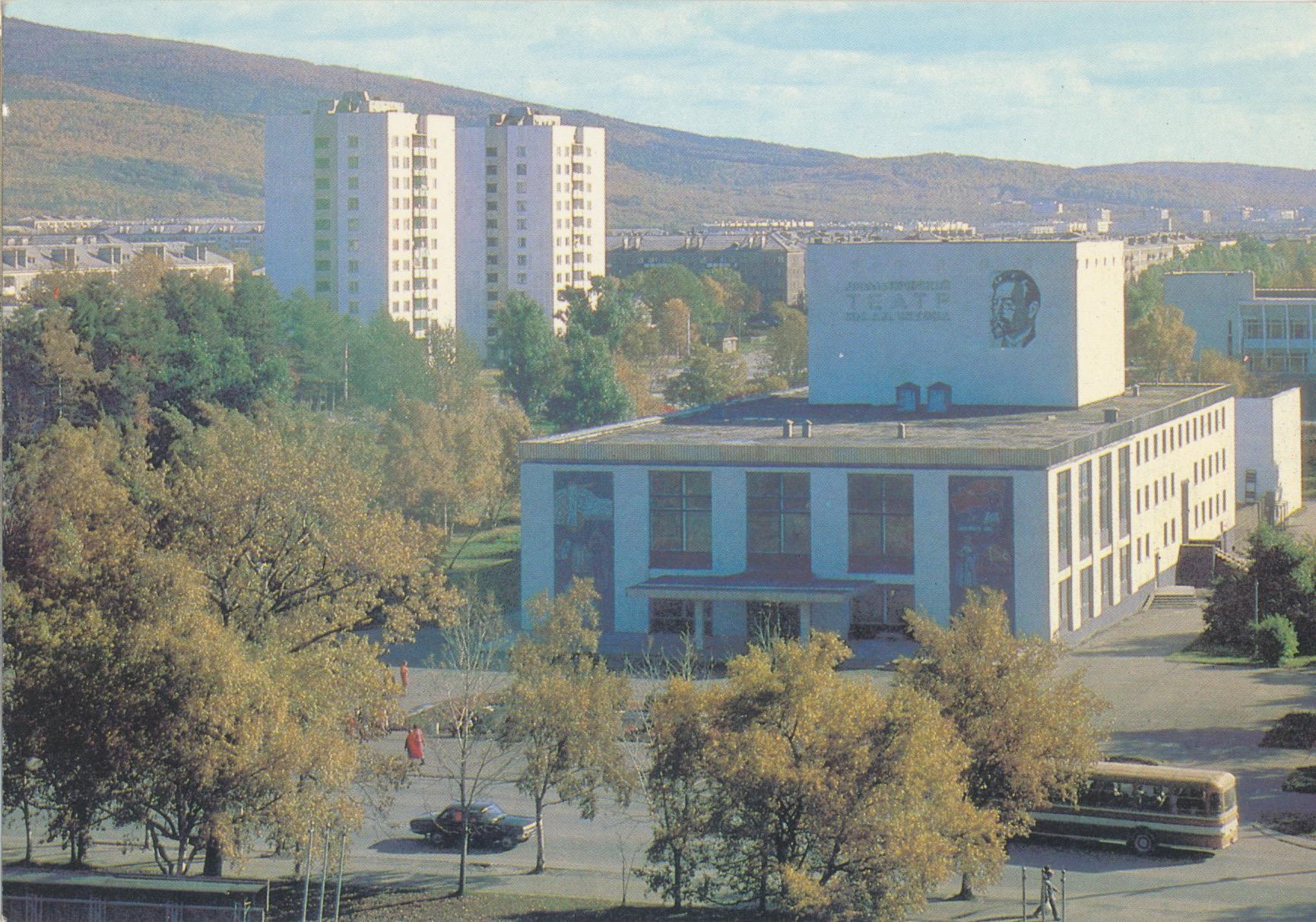 Южно-Сахалинск. Драматический театр имени А.П. Чехова.
