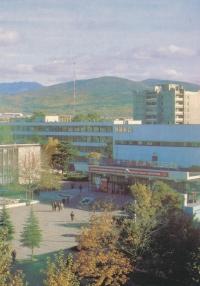 Южно-Сахалинск. Кинотеатр 'Октябрь'.