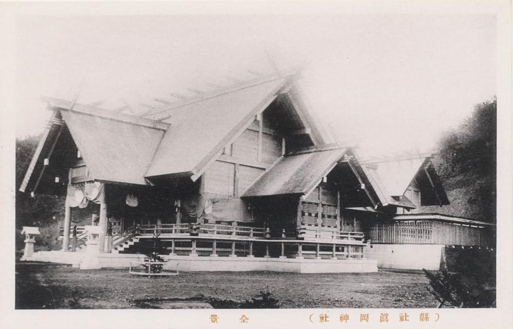 Вид на храм Маока дзинзя