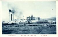 Вид на бумажный завод Одзи в г. Тоехара