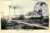 Вид на бумажную фабрику Одзи в г.Тоехара
