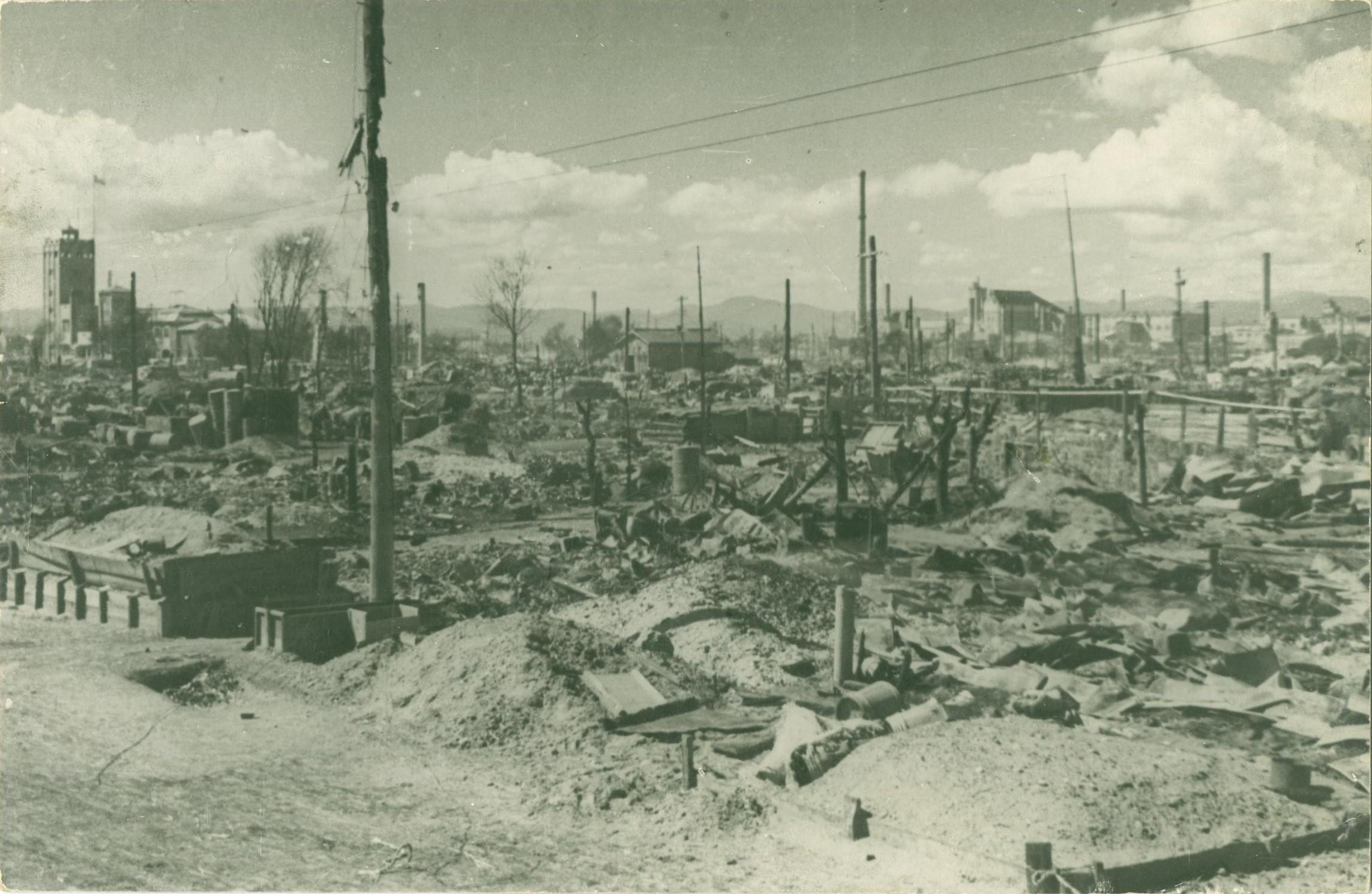 Сожженный японцами город Сикука
